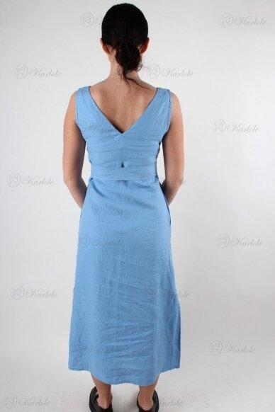 Ilga lininė suknelė 3