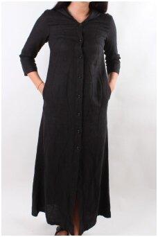 Lininis paltas-suknelė