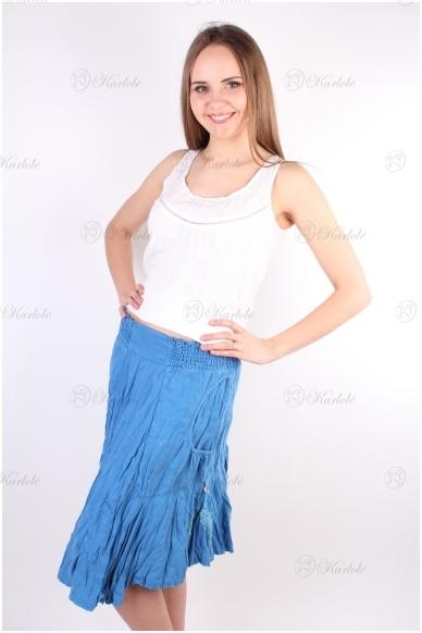 Lininis sijonas 2