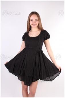 Trumpa lininė suknelė